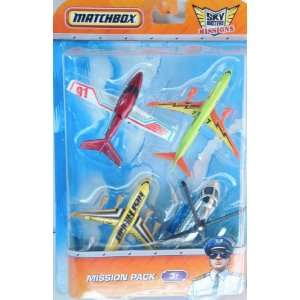 Matchbox Sky Busters Mission Pack   4 Aircraft   Metro