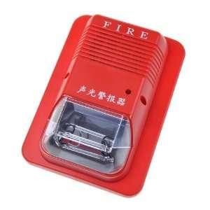 Red System Sensor Fire Alarm Horn Strobe Wall 24v Home