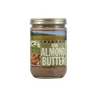 Woodstock Farms Raw Almond Butter    16 oz Each