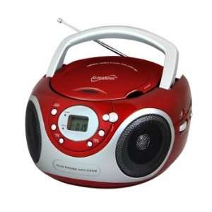 SC 507MP3 Portable MP3/CD Player with AM/FM Radio  Black Electronics