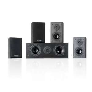 Fluance Compact 5 0 Surround Sound Home Theater Speaker