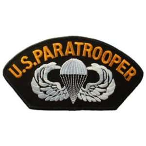 U.S. Army Paratrooper Hat Patch 2 3/4 x 5 1/4 Patio