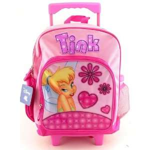 Disney Princess Tinker Bell Rolling Backpack Full Size Toys & Games