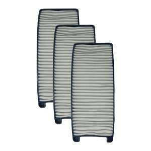 (3) Bissell Bagless Vacuum Cleaner Curved Pleated Post