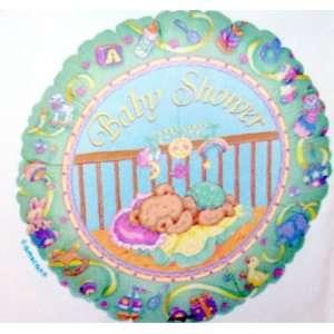 18 Metallic Baby Shower Balloon Toys & Games