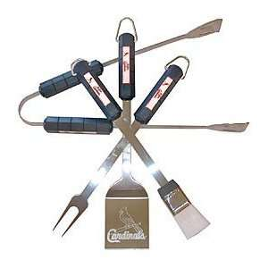 St. Louis Cardinals MLB BBQ Utensil Set