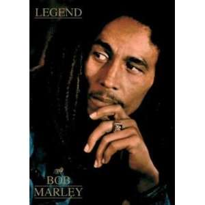 HUGE Bob Marley The Legend Rasta Banner Flag, 5 Feet