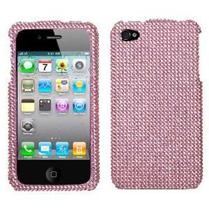 Pink Diamond Crystal Bling Protector Case for Apple iPhone