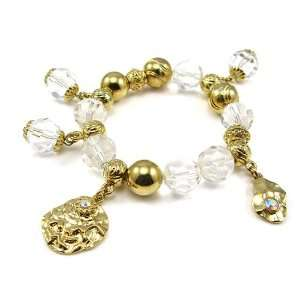 Perfect Gift   High Quality Fancy Bracelet with Golden
