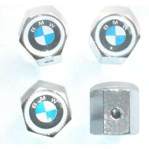 BMW Anti theft Car Wheel Tire Valve Stem Caps Automotive