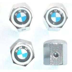 BMW Anti theft Car Wheel Tire Valve Stem Caps Automotive
