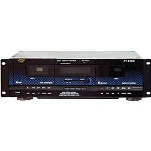 Dual Cassette Deck with Dynamic Noise Reduction Home