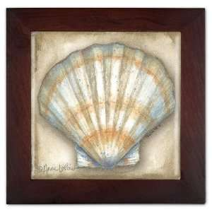 Clam Shell Ceramic Trivet & Wall Decoration: Kitchen