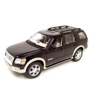 Ford Explorer Diecast Model Black 118 Eddie Bauer Die Cast Car  Toys
