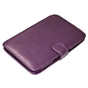 Leather Case For  EBook Reader Kindle 3 #Purple Electronics