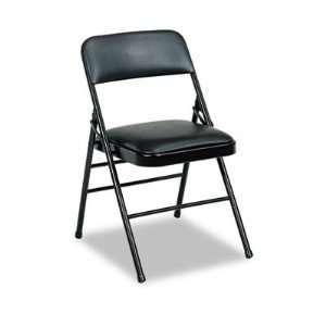 Bridgeport Deluxe Vinyl Padded Series Folding Chair