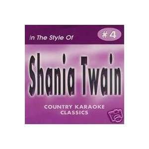 SHANIA TWAIN Country Karaoke Classics CDG Musical