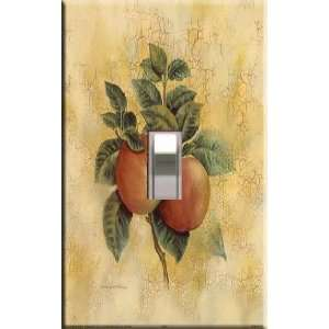 Apples #3 Decorative Single Light Switchplate Cover