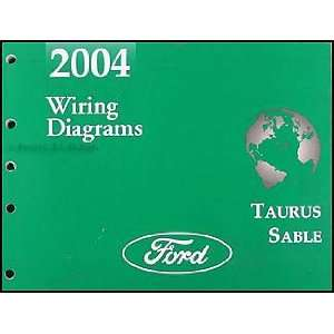 Taurus & Mercury Sable Wiring Diagrams Manual Original Ford Books