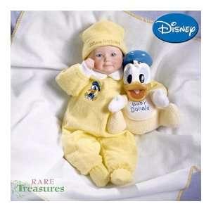 com Yolanda Bellos Disney Dreamland Baby Donald Porcelain Baby Doll