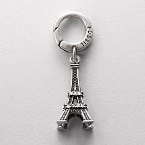 Fossil Eiffel Tower Charm Jewelry