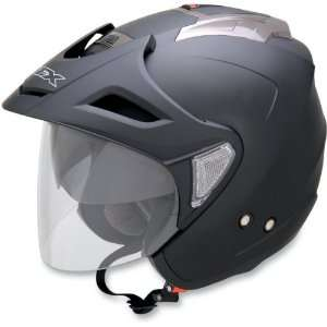 AFX FX 50 Open Face Motorcycle Helmet w/ Shield and Visor