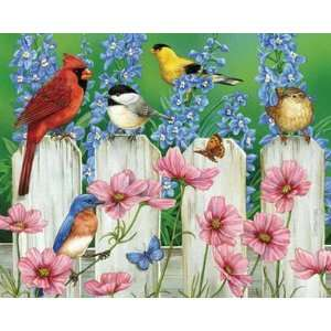 Fence Pals 1000 Piece Puzzle High Quality Modern Design Home