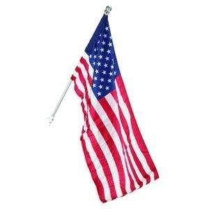 Flag Kit, includes 30 Inch x 50 Inch Dyed Nylon United States Flag