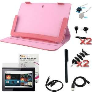 Folio PU Leather Cover Case kit for Sony Tablet S S1 SGPT111US/S