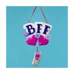 Club Pack of 12 BFF Best Friends Christmas Ornaments for