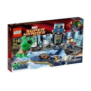 LEGO Super Heroes Hulks Helicarrier Breakout Toys & Games