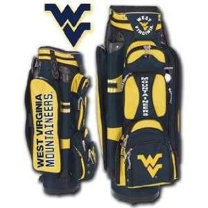 College Licensed Golf Cart Bag   West Virginia  Sports
