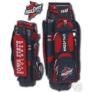 College Licensed Golf Cart Bag   Iowa St. Sports