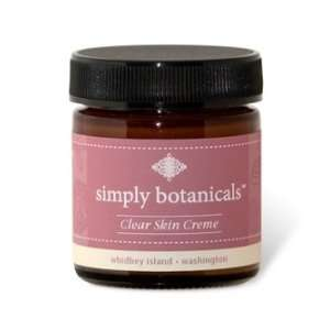 Clear Skin Crème by Simply Botanicals   1.6 oz. Beauty