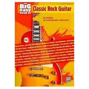 The Big Easy Book of Classic Rock Guitar: Easy Guitar Tab
