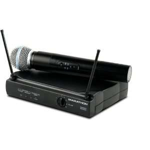 Channel Vhf Wireless Handheld System, Includes CardioID Handheld
