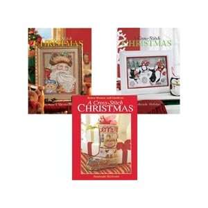 & Handmade Holiday Counted Cross Stitch Books Arts, Crafts & Sewing