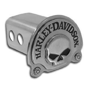 Harley Davidson Skull 3D Hitch Cover Automotive