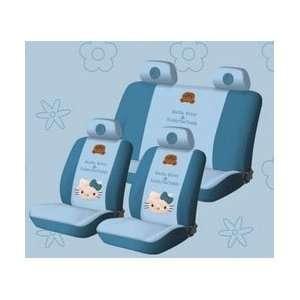 New Hello Kitty Universal Car Seat Cover   10pcs Full Set