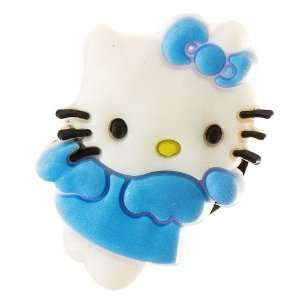 Making Hello Kitty angel croc charm   blue Arts, Crafts & Sewing