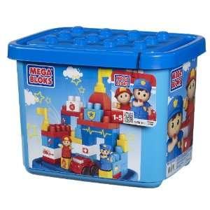 Megabloks Tub Town Medium Rescue Center Toys & Games
