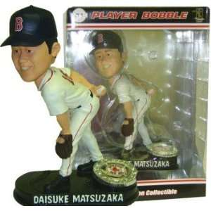 Daisuke Matsuzaka Red Sox Player Bobblehead: Sports Collectibles