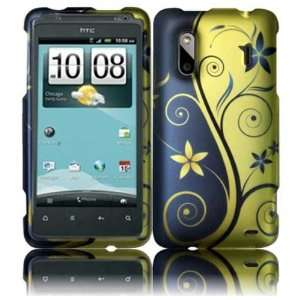 Cover   Blue Gold Royal Swirl Hard Case Cell Phones & Accessories