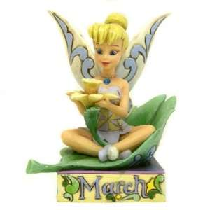 Jim Shore Disney Tinker Bell March Birth Stone