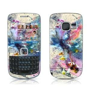 Cosmic Flower Design Protective Skin Decal Sticker for