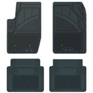 Black Precision All Weather Kustom Fit Car Mat for Ford Explorer