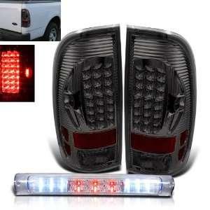 F150 Pickup LED Smoked Tail Lights + LED Brake Brand New Automotive