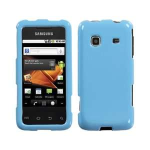 Light Blue Shiny Crystal Hard Skin Case Glossy Cover for