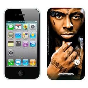 Lil Wayne Portrait on AT&T iPhone 4 Case by Coveroo