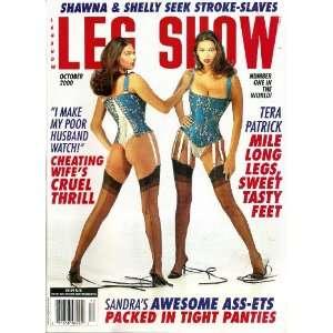 Leg Show Magazine October 2000 Tera Patrick Mile Long Legs Sweet Tasty